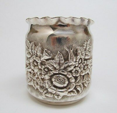 Antique Victorian Silverplated Fern Pot ~ Derby Silver Co. 1872-1898 ~ Excellent