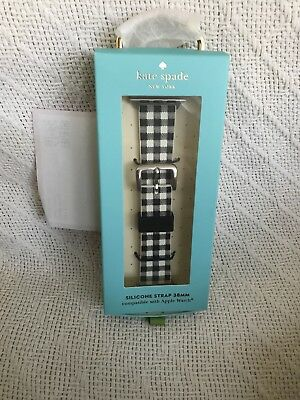 New-kate spade new york - Strap for Apple Watch 38mm - Gingham Msrp: $58