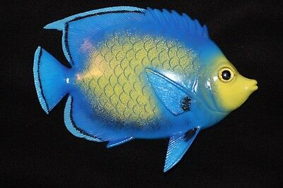 (1), Seafood Restaurant Tropical Fish Wall Decor, 8 inch, 3-D, Blue, #108