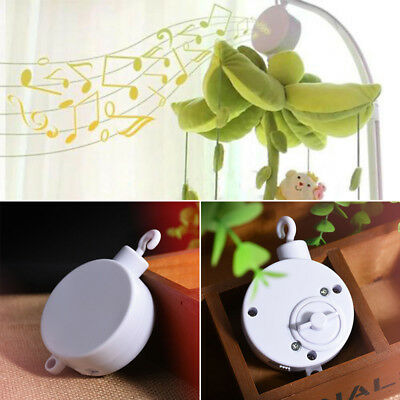 Bed New Movement Crib Baby Infant Box Mobile Rotary Music Clockwork Bell Cord