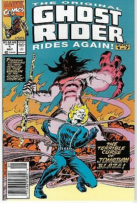1991 Ghost Rider Rides Again Issue #1 Marvel Comic Book Bag/board Vg-Mint Rare