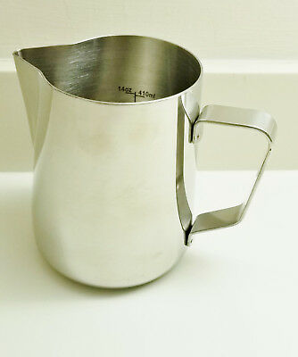 Rhinoware Coffee Gear Professional Milk Pitcher, Stainless Steel 20 oz