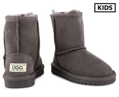 OZWEAR Connection Kids' Ugg Boots - Charcoal
