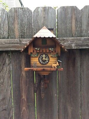 Chimney Sweep  Complete  Cuckoo Clock,   Restoration Project