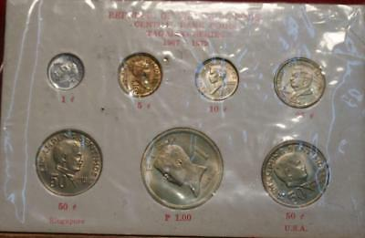 1967-1972 Republic Of The Philippines Coin Set