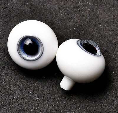Good 20MM GrayBlue with Lines Glass BJD Eyes for Reborn LUTS BJD Super Doll