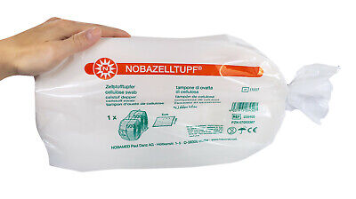 nobamed 2x500 Wipes Pads Casters zeletten 1000 Cellulose Swabs