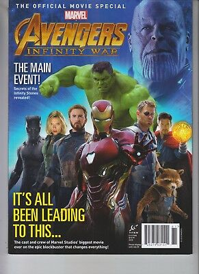 Marvel Official Movie Avengers Infinity War Magazine 2018 Titan