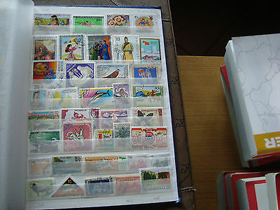 ASIE - 37 stamps canceled (all state) stamp