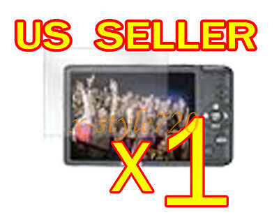 1x Canon ELPH 100HS Clear LCD Screen Protector Cover Guard Shield Film