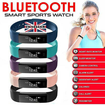 New Kid&Adult Smart Bracelet Watch Fitness Activity Tracker Monitor Pedometer UK