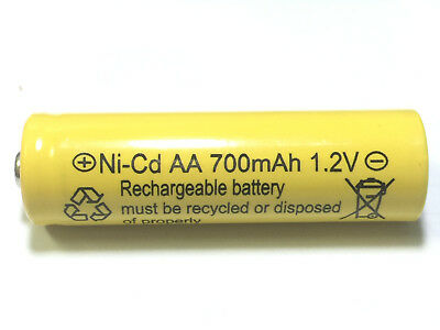 8 AA Rechargeable Batteries NiCd 700mAh 1.2v Garden Solar Ni-Cd Light LED S8
