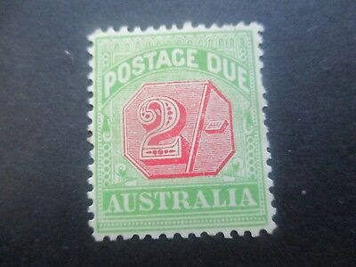 Postage Due Stamps: 1909 2/- Mint  (r147)