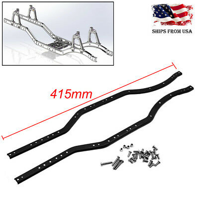 KYX CHASSIS METAL Frame Rails C Channel1/10 RC Axial SCX10 4x4 Rat ...
