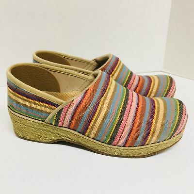 Dansko Jute Professional Vegan Clogs 38,5 US 7.5