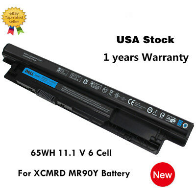 65WH Genuine Battery for Dell Inspiron 3421 5421 15-3521 5521 3721 MR90Y XCMRD