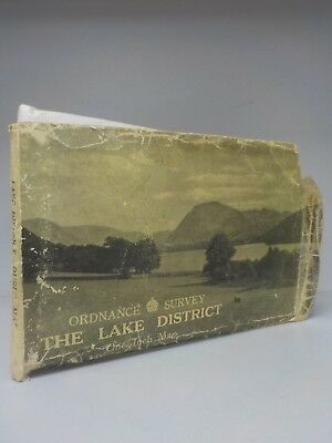 The Lake District - Ordnance Survey One Inch Map - 1948 (ID:714)