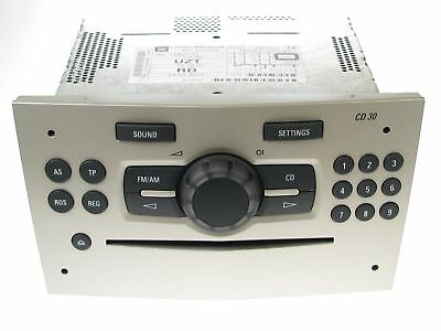 Genuine Vauxhall Corsa D 2007 On Stereo Radio CD Player UZT CD30 13357131