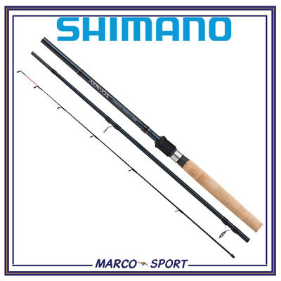 Canna da pesca in carbonio Shimano Aernos Precision Feeder 11 ft 3 pezzi 60 gr
