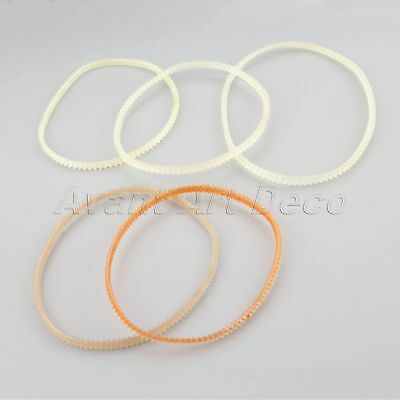 10pcs Double Side Toothed Belt 0.5cm Width 5 Size Sewing Machine Motor Belts