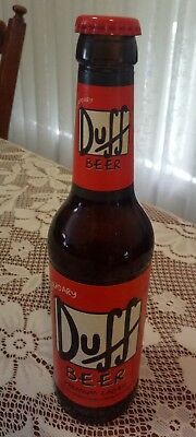The Legendary Duff Beer Bottle - Collectable (Simpsons) item.