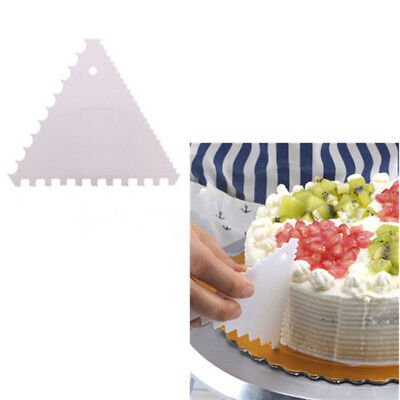 Edge Frill Decorative Cake Smoother Kit Comb Set for Shaping Creating Cake