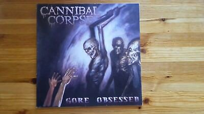 "Cannibal Corpse LP ""Gore obsessed"""