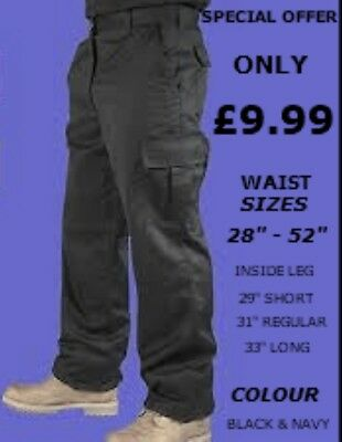 Price Value Unisex Cargo Combat Work Mechanic Industrial Driver Trousers