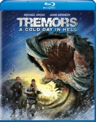 Tremors A Cold Day in Hell (Jamie Kennedy Michael Gross) New Region B Blu-ray