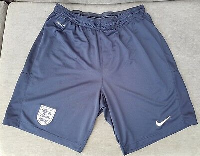 Mens Nike England Football Team Dri-Fit Home Shorts Size XL