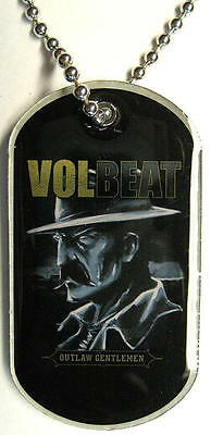 "Volbeat Dog Tag ""outlaw Gentlemen"" - Necklace - Hundemarke - Halskette"