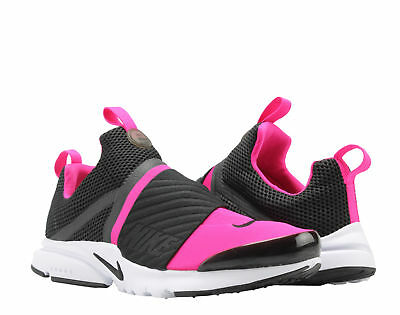 b3ea93458be Nike Presto Extreme (GS) Black Pink-White Big Kids Running Shoes 870022