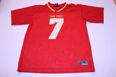 reputable site e7975 7758d Youth Iowa State Cyclones  7 XL Football Jersey (Red) Nike Jersey