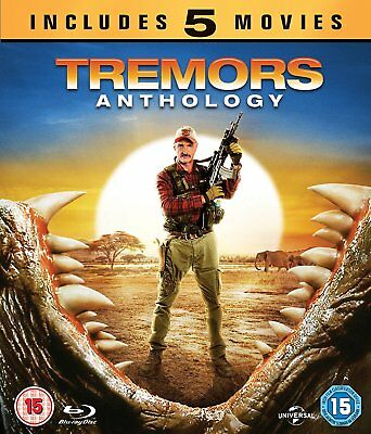 Tremors Anthology 1 2 3 4 5 Collection Blu-ray Region B New