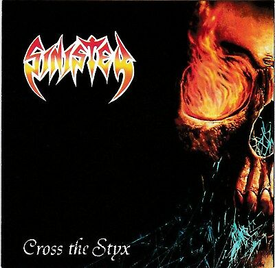 Sinister – Cross The Styx RARE NEW CD! FREE SHIPPING!