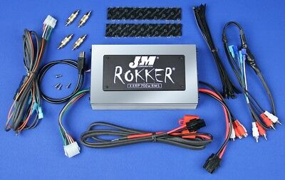 J&M Audio XXRP 700 Watt 4 Channel Universal Amp Kit 1998-2013 Harley-Davidson