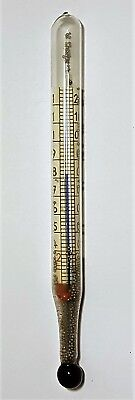 Vintage Glass Thermometer - Collectable