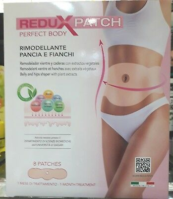Redux Patch Perfect Body Rimodellante Pancia E Fianchi  8Pz