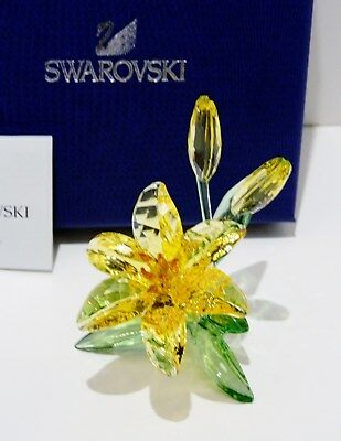"Swarovski  2018  Mother Nature Coll. , "" Lily ""   #5371641  Vibrant And Happy"