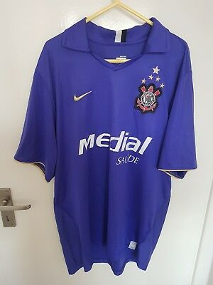 Corinthians football shirt large ultra rare