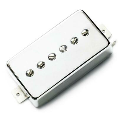 Lindy Fralin Hum-Cancelling P-90 In Humbucker Nickel Cover - Bridge Position