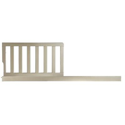 Evolur Toddler Rail, Gold Dust solid wood all ASTM and CPSC safety standards