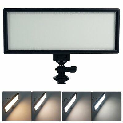 "VILTROX 0.78"" Thin LED Video Light Dimmable Flat Panel On-camera Light, New"