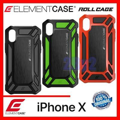 Element Case Roll Cage Rugged Cover for iPhone X HIGH IMPACT PROTECTION