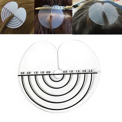 Hair Extensions Scalp Protector Heat Shields Thermal Discs with Measurements UK