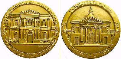 Puerto Rico Institute of Culture • 1980 medallion commemorating 25th Anniversary