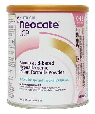 Neocate LCP 0+ Months (3 tins, exp. Q1 2019)