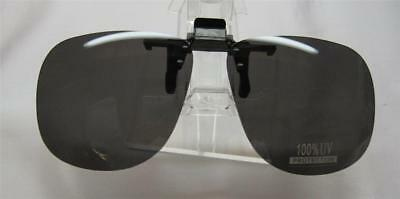 sunglasses clip-ons New Clip-On Flip-Up Shades Over Rx Glasses Free Ship USA PR