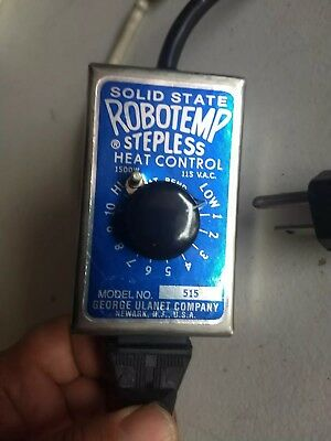 George Ulanet Robotemp Stepless Heat Control 315 & Heating Element