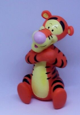 WINNIE THE POOH TIGGER Rubber Squeak Bath Toy Figure 5.5 INCH FREE SHIPPING